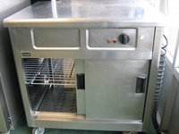 Used hot cupboard