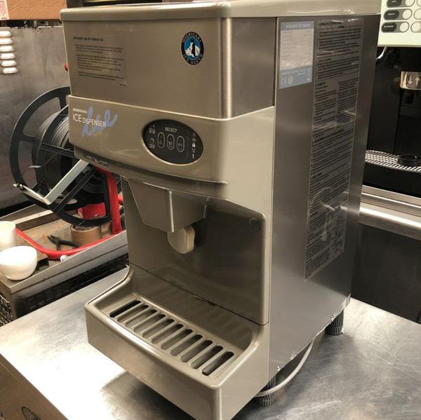 Used ice machine