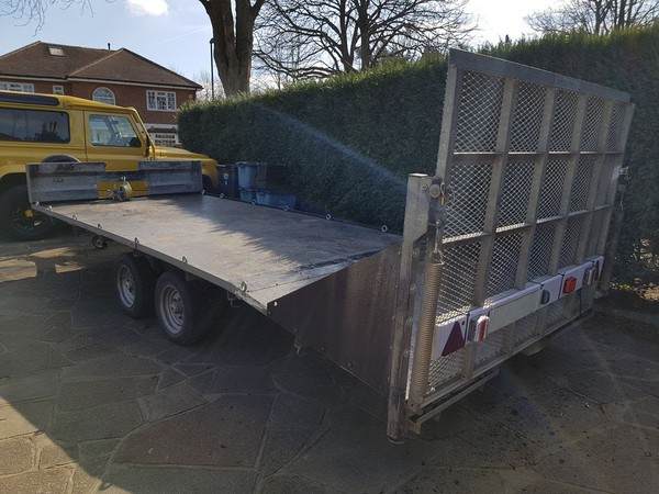 Secondhand flatbed trailer for sale