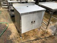 Stainless steel cupboard
