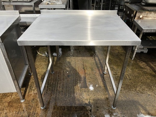 Stainless steel tables for sale