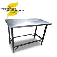 1.2m Stainless Steel Table (SS350) – Cheshire