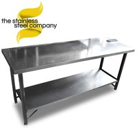 1.8m Stainless Steel Table (SS352) – Cheshire