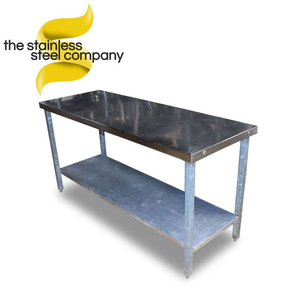 1.6m Stainless Steel Table