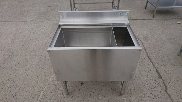 Stainless steel ice well for sale