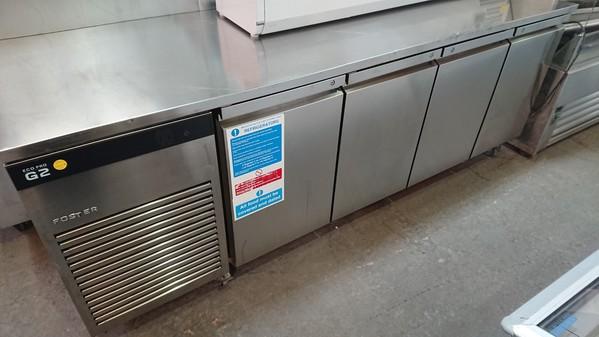 4 Door prep fridge