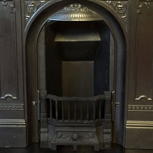 Bedroom fireplace insert