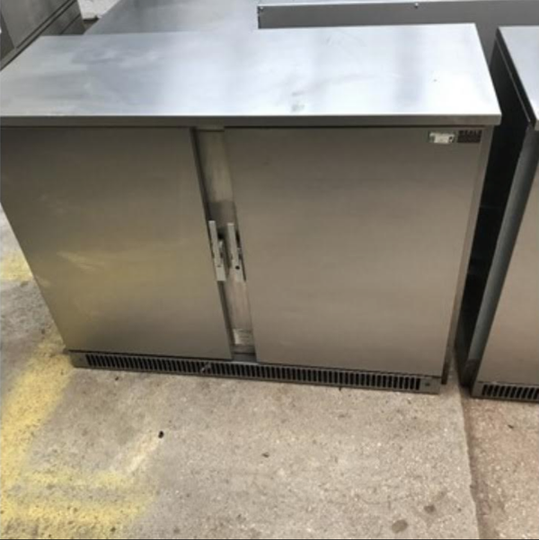 Under counter bottle fridge
