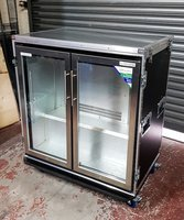 Double Door Fridge Flight Case
