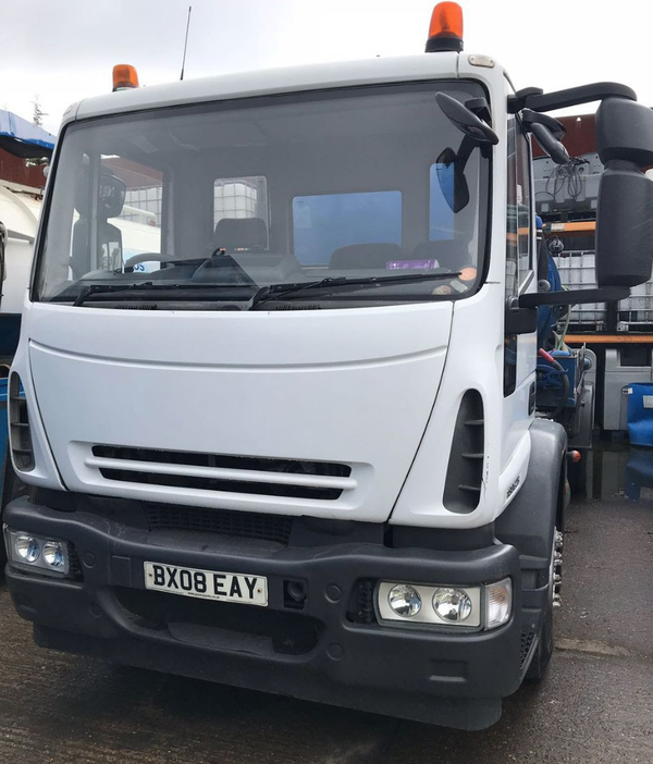 Used Iveco tanker