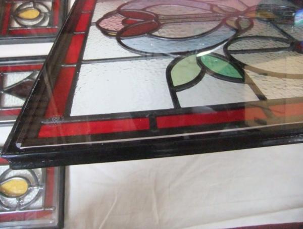 Double glazing of panels