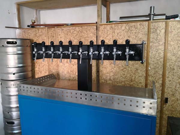 New beer taps