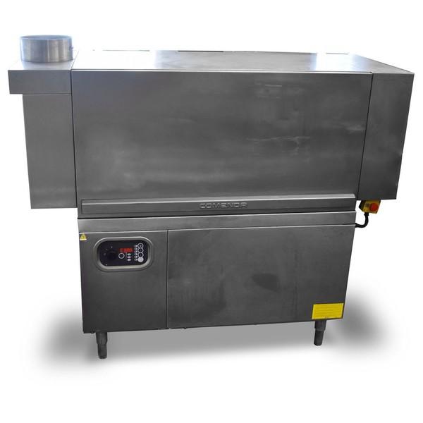 Used dishwasher station