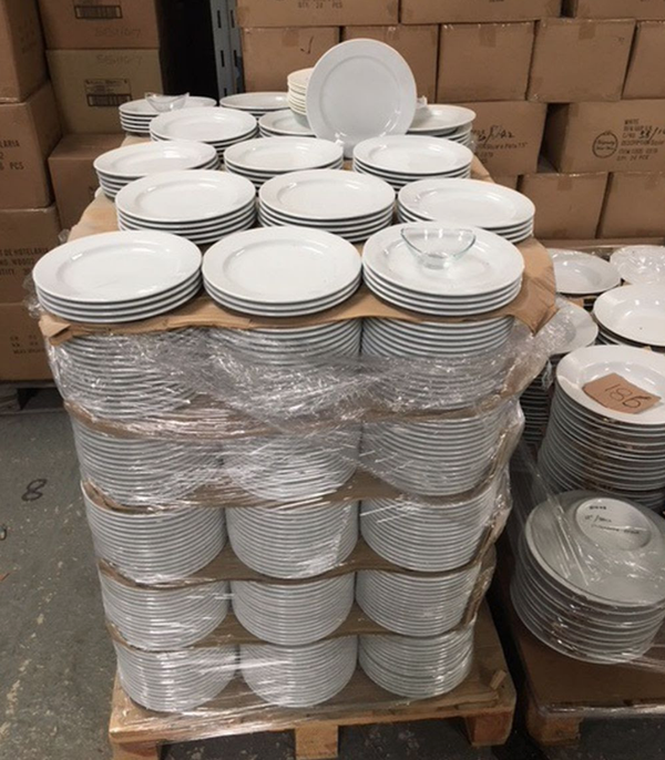 Wide rim plates for sale