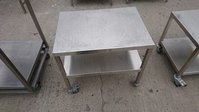 Steel oven stand