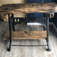 Cast iron work bench