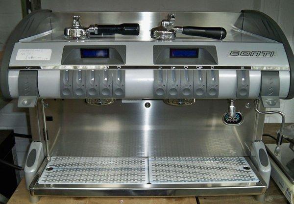 Conti Twin Star Coffee Machine 2 group