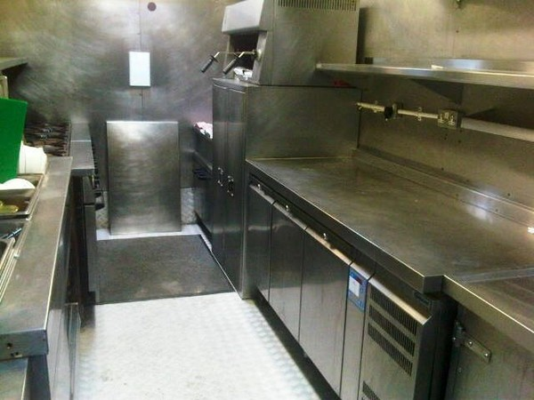 second hand Zodiac Mobile Catering Truck for sale