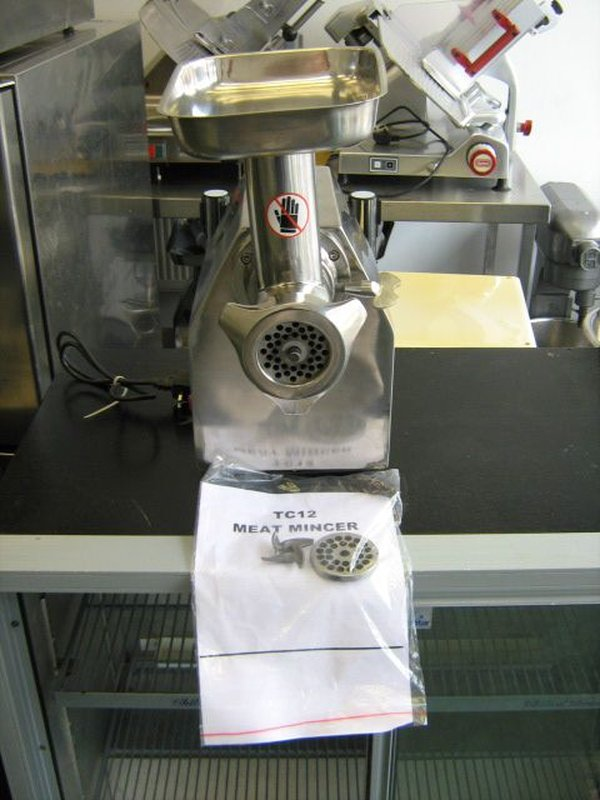 Gurden TS12 Stainless Steel Meat Mincer