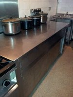 Electric Hot Cupboard with Hot Plate Top
