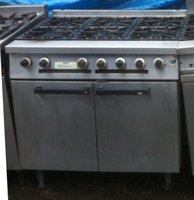 6 Ring Falcon Dominator Gas Cooker Oven for sale