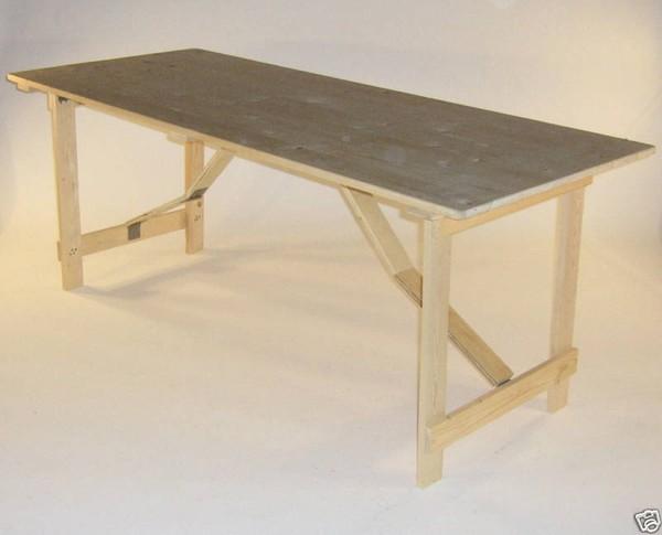 trestles tables