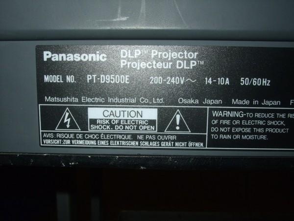 Second Hand Panasonic 10,000 Ansi Lumen XGA (1024 x 768) Projector