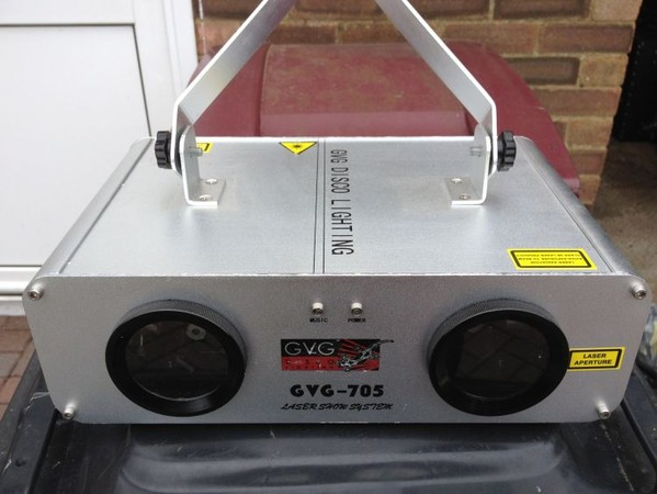 Secondhand Sound And Lighting Equipment DJ Equipment Complete Programmabl