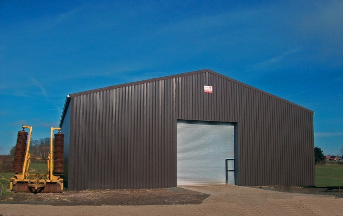 Secondhand portable buildings storage or warehouse for Steel frame barns for sale