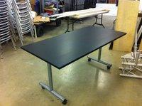 34x Black Folding Tables