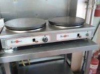 Krampouz Gas Double Plate Crepe Maker