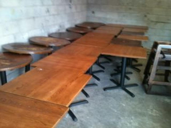 Buy Job Lot of Mainly Wooden But Some Chrome Furniture For Sale