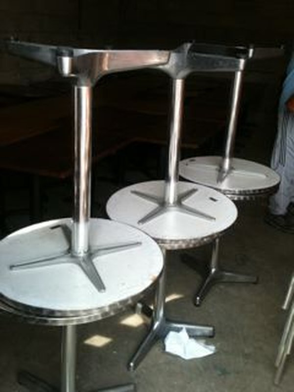 Job Lot of Mainly Wooden But Some Chrome Furniture For Sale