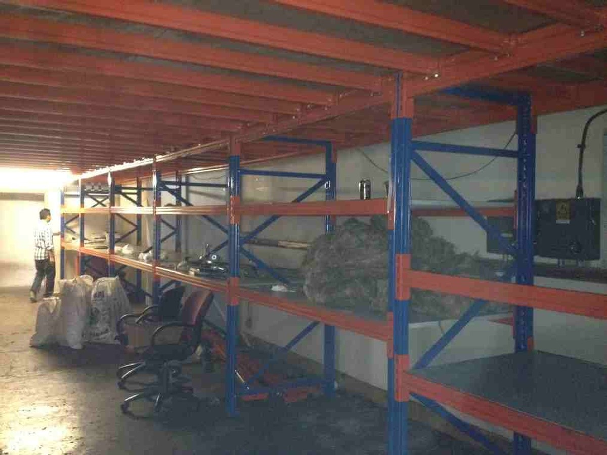 Secondhand Sound And Lighting Equipment Racking And Storage Mezzanine 21m