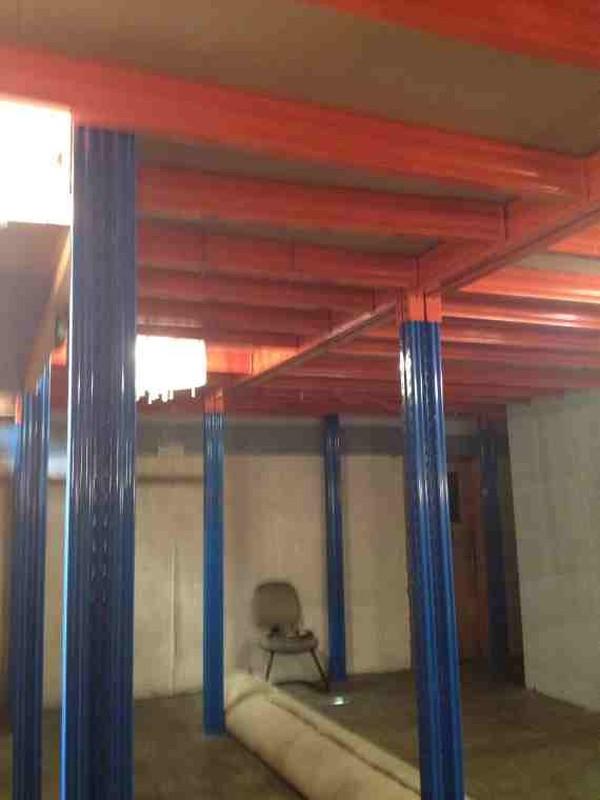 Used  21m x 13.5m Mezzanine