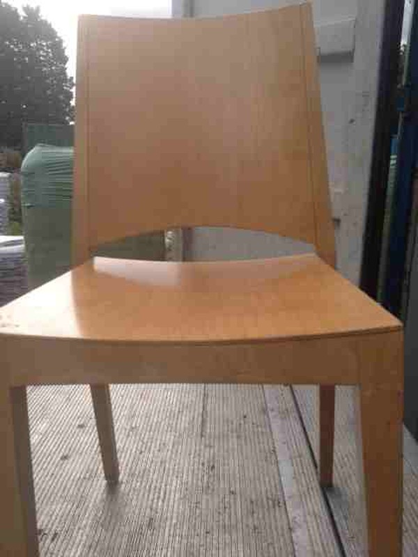 24x Square Wooden Chairs - North London