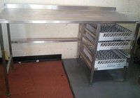 Various Stainless Steel Tables - Gloucester