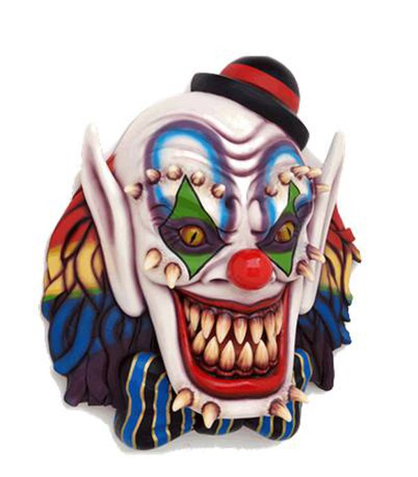 Scary clown mask for sale