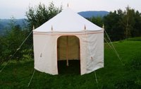4m Octagonal Canvas Tent - Glastonbury, Somerset