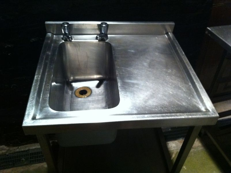 Commercial Catering Sinks : Catering Equipment Sinks and Dishwashers Stainless Steel Sink ...