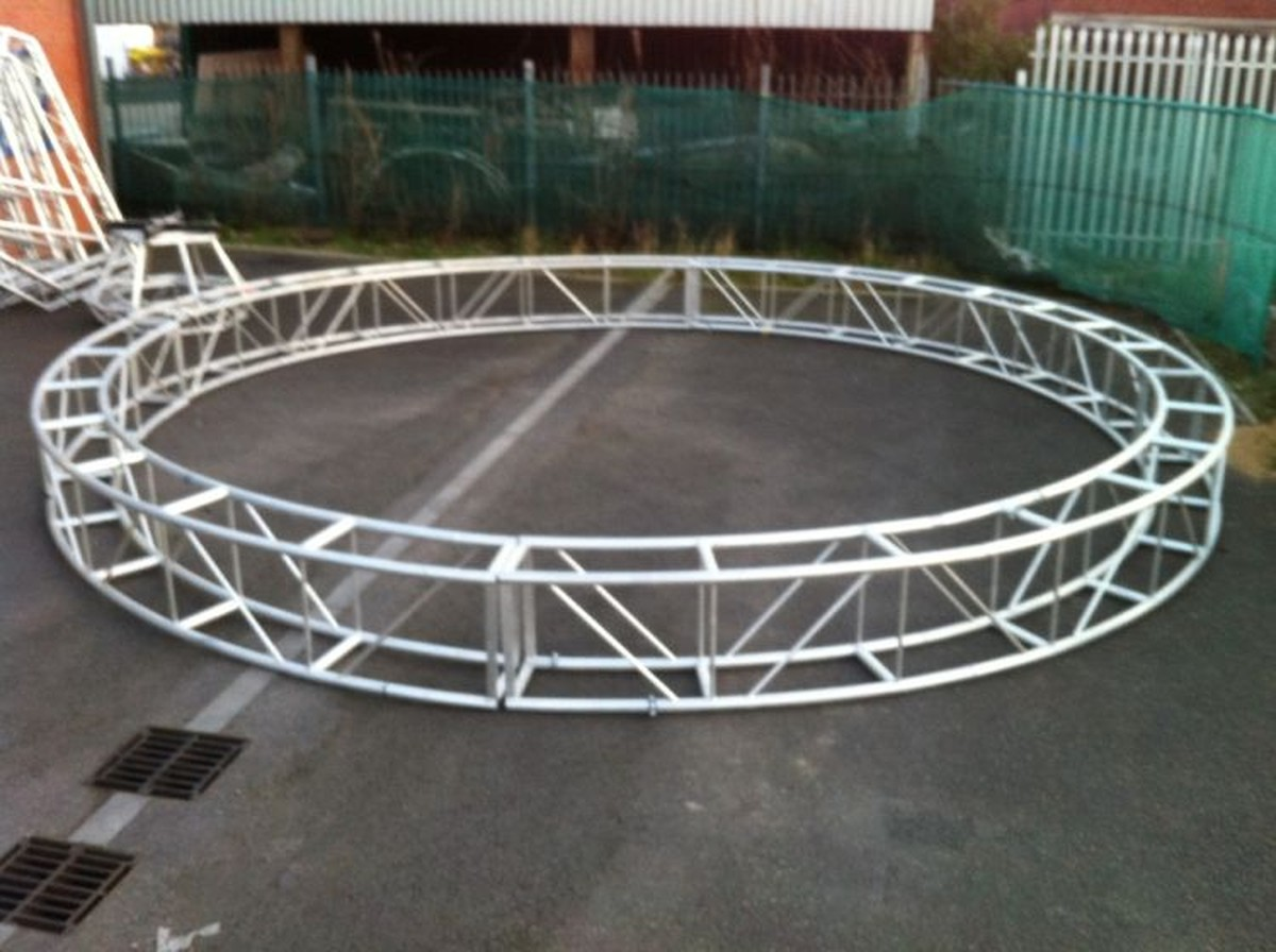 Used Lighting Truss Uk 4x professional dj disco lighting truss