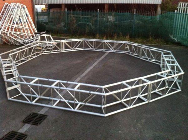 2x Box Truss Circle and Octagon