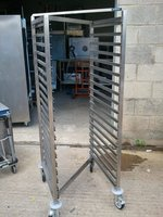Moffat 20 Grid Gastro 2/1 Mobile Trolley in stainless steel
