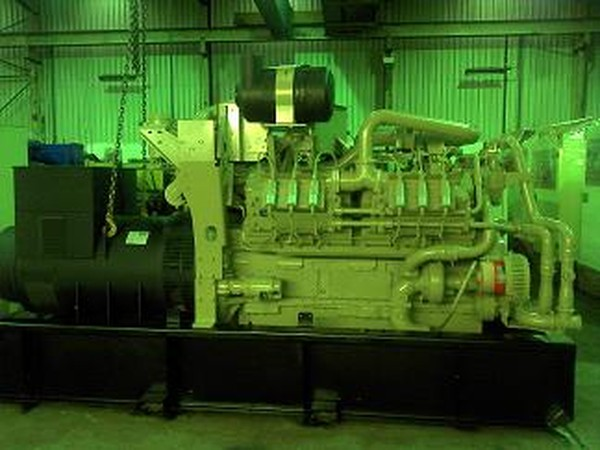 850 KVA Cummins Gas Set
