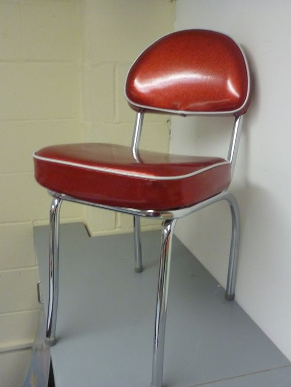 retro diner chair
