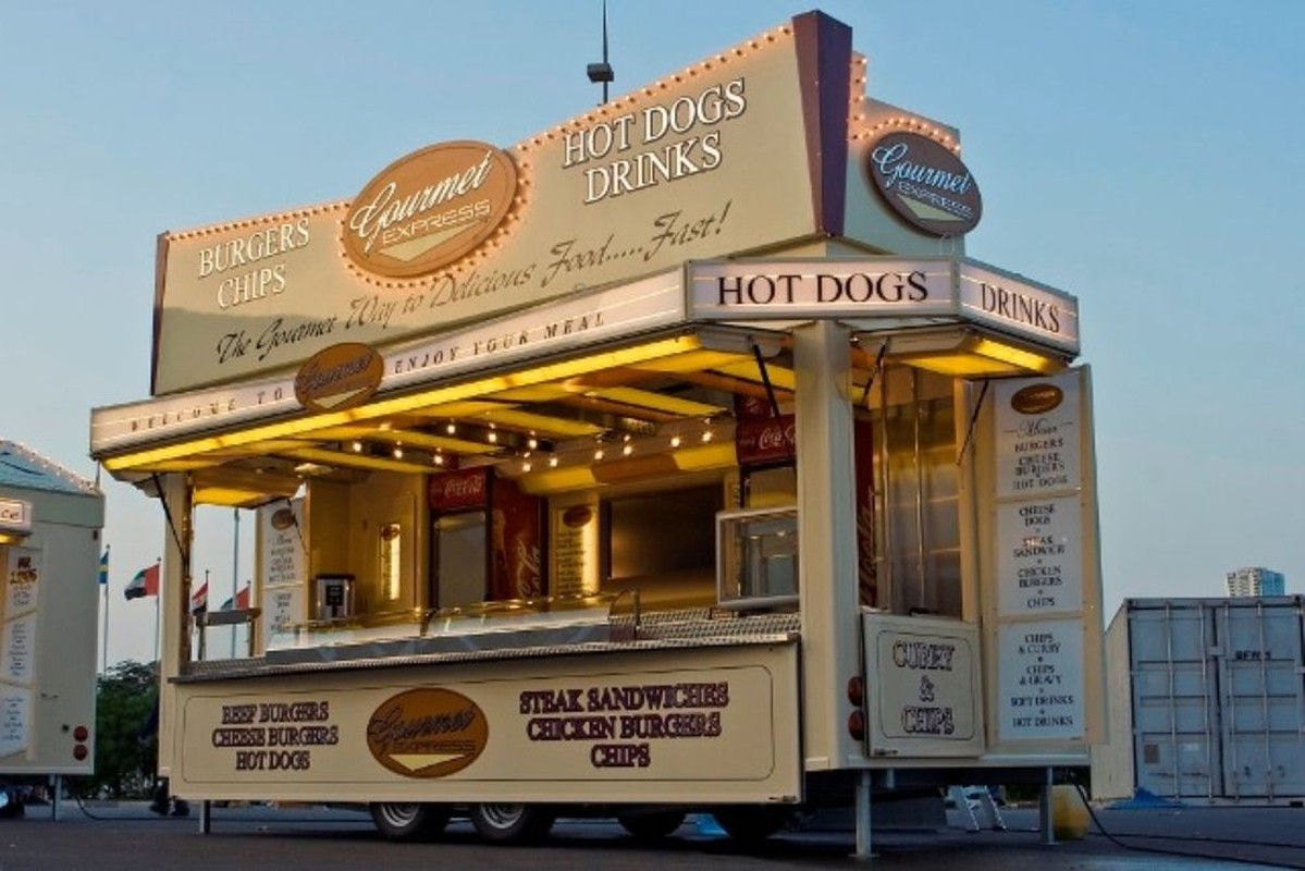 Secondhand Trailers Catering Trailers High Spec