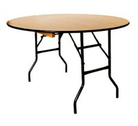 folding round banqueting tables