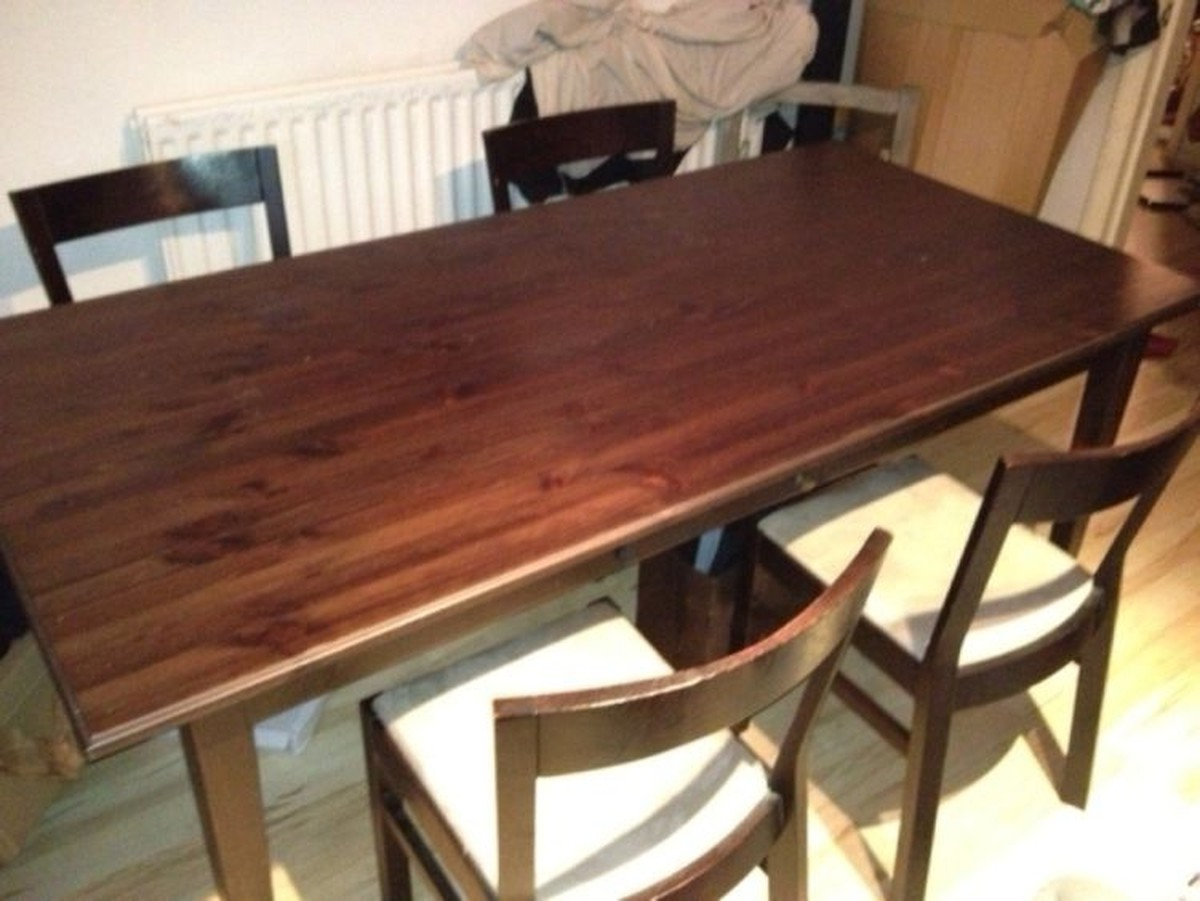 Second Hand Dining Table And Chairs