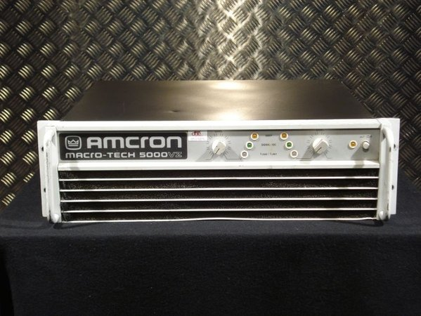ex hire Amcron VZ5000 amplifier