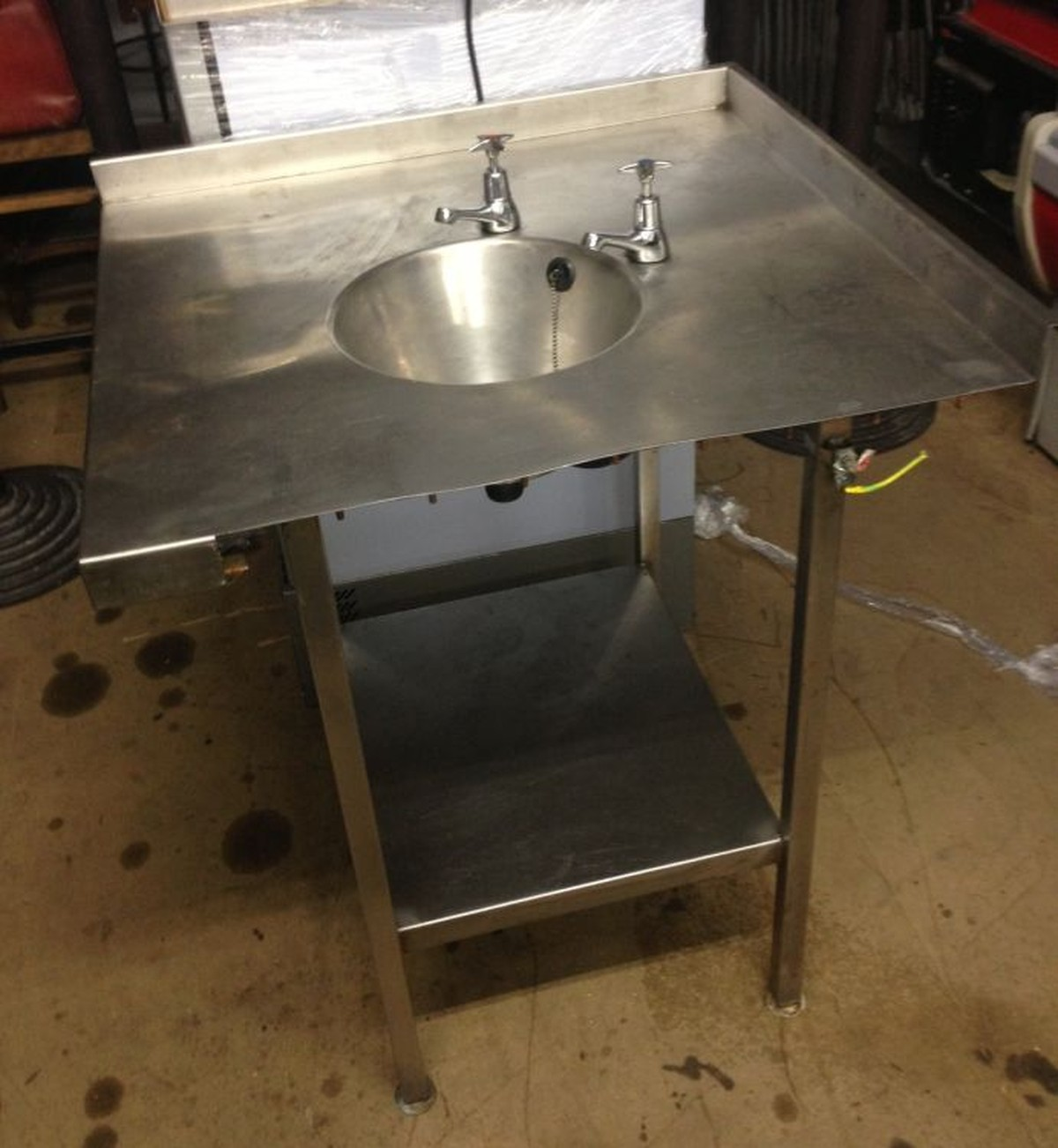 Secondhand Toilet Units Roneford Catering London Corner Sink Including